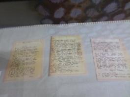 Algumas páginas digitalizadas do manuscrito de O Quinze